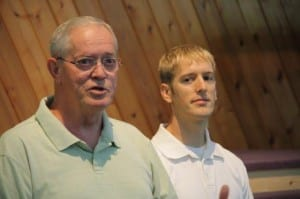 Baptism with Pastor Mike Marcum and Tom M.  on August 31st at morning worship service
