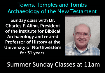Summer Sunday Classes at 11am