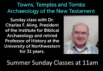 Summer Sunday Classes at 11am
